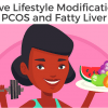 pcos and fatty liver